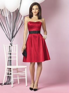 Love this dress..Imagine with a yellow sash instead of a black one! LOVE