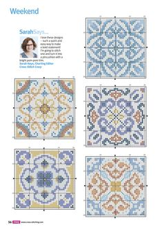 Thrilling Designing Your Own Cross Stitch Embroidery Patterns Ideas. Exhilarating Designing Your Own Cross Stitch Embroidery Patterns Ideas. Cross Stitch Geometric, Cross Stitch Borders, Counted Cross Stitch Patterns, Cross Stitch Charts, Cross Stitch Designs, Cross Stitching, Blackwork Embroidery, Cross Stitch Embroidery, Hand Embroidery