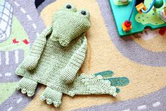 Ravelry: Crocodile Ragdoll pattern by A la Sascha