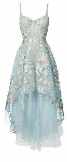 On Sale Nice A-Line 2019 Chic A-line Prom Dresses Spaghetti Straps Asymmetrical Prom Dress Evening Dresses High Low Prom Dresses, Homecoming Dresses, Wedding Dresses, Dress Prom, Floral High Low Dress, High Low Dresses Casual, Blue High Low Dress, Sheer Floral Dress, Blush Prom Dress