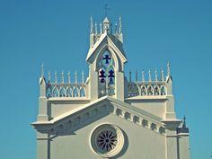 Iglesia en frente de la plaza alta de Badajoz.