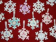 Afbeeldingsresultaat voor knutselen met puzzelstukjes