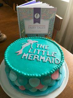 Hans Christian Andersen's Fairy Tales. Little mermaid cake made by Patsy's Sweet Shoppe in West Allis WI.
