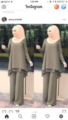 Frock Fashion, Abaya Fashion, Muslim Fashion, Fashion Dresses, Dress Muslim Modern, Muslim Dress, Modern Hijab Fashion, Modest Fashion, Stylish Dresses