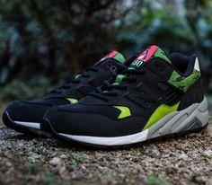 mita Sneakers x SBTG x New Balance 580 – Black   Green f3cbcfb0cb