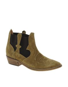 Ganni Amber Cowboy Boots