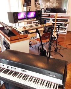 Outstanding My Music Studio Desk That I Built With A Friend Comment For Specs Largest Home Design Picture Inspirations Pitcheantrous