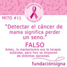 #MItos #CancerDeMama N°11
