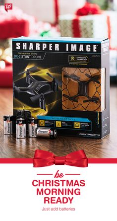 Batteries not included? Be ready for Christmas morning with Energizer batteries to power up those shiny new toys!