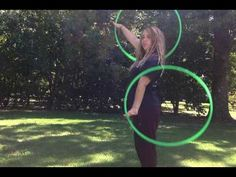 """This is a double hoop """"tutorial"""" for CAPs. well, a different approach/drill if you aren't so well acquainted with technical terminology. This drill may hel. Fit Eats, Hula Hoop Workout, Hula Hooping, Muscle Memory, Flow Arts, Double Trouble, Tai Chi, Circles, Drill"""