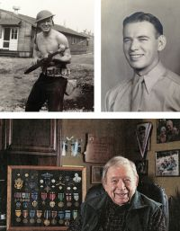 """Medal of Honor Recipient Urges Congress to Correct an """"Oversight"""". DeWitt served with the famed 41st Infantry """"Sunset"""" Division of the Oregon Army National Guard during World War II. In a letter dated January 31, 2014, citing Oregon House Joint Memorial 17 and other supporting documents, Maxwell urged Senator Ron Wyden to advance the initiative to upgrade DeWitt's Distinguished Service Cross award to the Medal of Honor.  