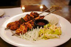 Grillreceptek.hu - Grill receptek valódi grillezéshez Tandoori Chicken, Ricotta, Bacon, Meat, Ethnic Recipes, Food, Instagram, Kabobs, Kabobs