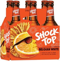 Anheuser Busch's Shock Top Launches New Brand Look — The Dieline | Packaging & Branding Design & Innovation News