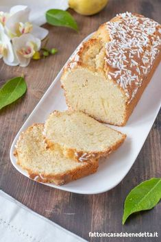 Torte Cake, Loaf Cake, My Recipes, Sweet Recipes, Cooking Recipes, Plum Cake, Bread Machine Recipes, Food Crafts, Recipe For 4