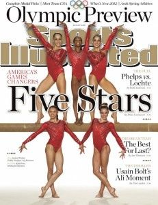 MEET THE GOLDEN GIRLS:    •Aly Raisman  •Jordyn Wieber  •Gabrielle Douglas  •Kyla Ross  •McKayla Maroney