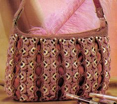 "New Cheap Bags. The location where building and construction meets style, beaded crochet is the act of using beads to decorate crocheted products. ""Crochet"" is derived fro Soda Tab Crafts, Can Tab Crafts, Crochet Designs, Crochet Patterns, Pop Top Crafts, Pop Tab Purse, Pop Can Tabs, Soda Tabs, Pop Cans"