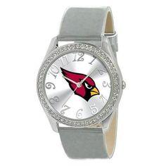 Arizona Cardinals NFL Ladies Glitz Series Watch