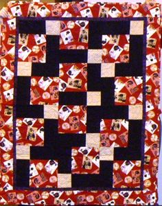 A kit quilt, made by one of our quilting fairies.