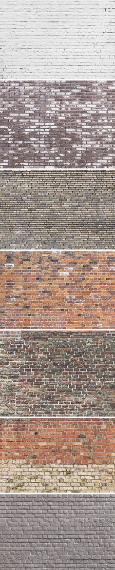 Today's freebie is the second volume of our brick wall textures, perfect to use for adding an urban look to your designs... #modeltrainlayouts