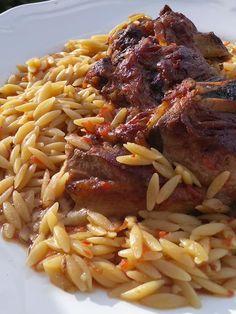 Lamb, Spaghetti, Beef, Chicken, Ethnic Recipes, Desserts, Food, Greek Recipes, Meat