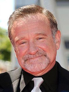 O comediante Robin Williams (Foto: AFP) RIP.