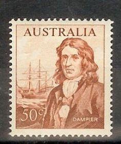 Australian Decimal Stamps 1966 -- 50c Dampier