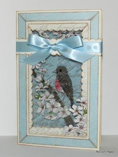 Beccy's Place: Technique Class - Book Box Card