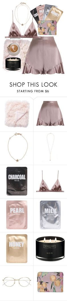 """• 🖤 •"" by marcia-micaela ❤ liked on Polyvore featuring Jaipur, Zimmermann, Kismet, Harakiri, Lapcos, Fleur du Mal, The White Company, RetroSuperFuture and Lizzie Fortunato Jewels"