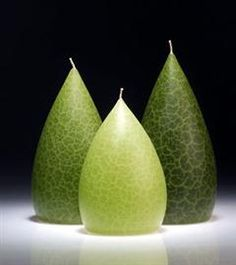 """Sage Pillar by Barrick Design candles. Sage Short Small Pillar as pictured in the middle candles dimension: 3.5"""" diameter x 5.5"""" tall Barrick Candles are beautifully crafted, vibrantly colored, and are made of very high grade paraffin waxes so that they maintain their shape to glow from within when lit. Made in Pennsylvania. Many brilliant colors."""