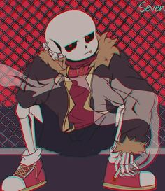 You didn't know anything about Undertale until all of a sudden all the aus are living in y. Flowey Undertale, Anime Undertale, Undertale Drawings, Frisk, Sans Anime, Underfell Sans, Chibi, Sans Art, Pokemon
