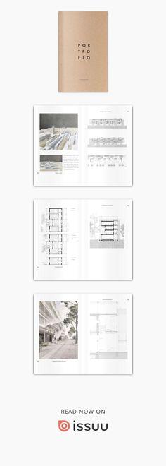 Architektur Portfolio 2018 Michael Bögelein Architektur Portfolio 2018 - - Barb's World Design Corporativo, Logo Design, Layout Design, Design Model, Design Ideas, Portfolio Design Layouts, Architect Portfolio Design, Mise En Page Portfolio, Portfolio Book