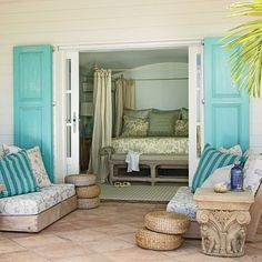 Master Bedroom - St. Barts Island Cottage - Coastal Living