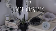 DIY: How to Make Your Own Geode Crystals (Boho Room Decor Tutorial)