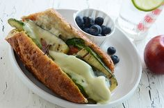 Yum! Ultimate Veggie Hoagie from An Edible Mosaic