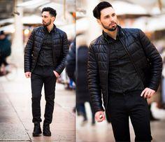 Men street style fashion - the beard spring look - Street looks from Pitti Uomo Menswear Tradeshow Spring/Summer 2016 in Florence check the blog male fasgion street style #men #cool #fashion #malemodel #swag #model #style #beard #spring #edgy #urban #classy #streetstyle street #beard #beardmen #beardstyle #beard #menbeard