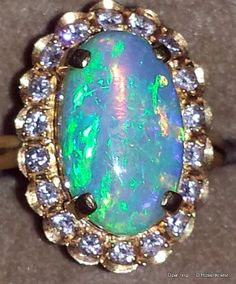Opal Ring. Now this is what I like. YES PLEASE!!!!!