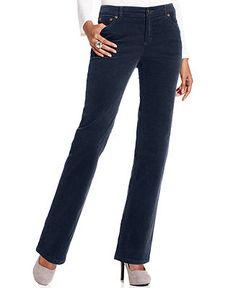 Charter Club Pants, Straight-Leg Corduroy - Sale & Clearance - Women - Macy's