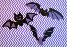 Double Layer Bat Die Cuts  Large Bat Die by MyMixedMediaCrafts