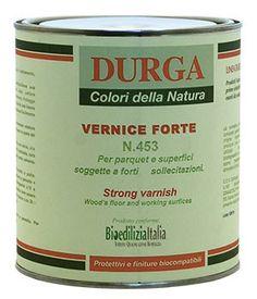 Finitura a spessore. Vernice naturale composta da oli e resine vegetali.
