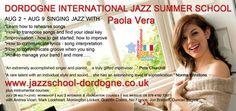Dordogne International jazz Summer school Vocal Course with Paola Vera
