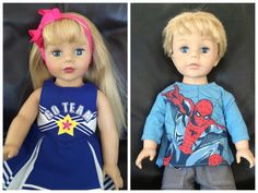 How I created an American doll Boy for my son