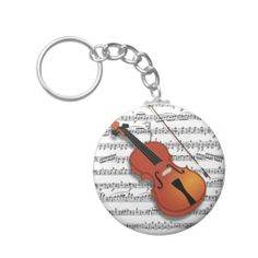 Violin Lover_ Key Chain I just sold 50 Key-chain, Violin with music notes,  by Elenne Boothe http://www.zazzle.com/violin_lover_key_chain-146396995252864101