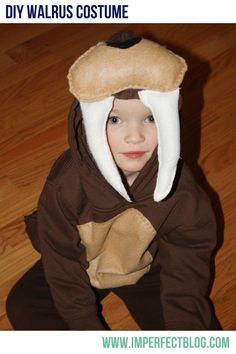 A Walrus Costume (and mini-tutorial)
