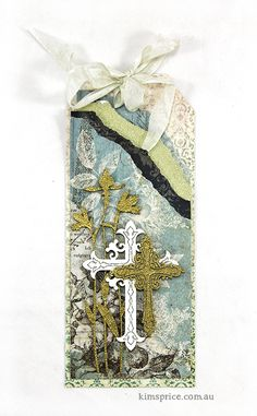 Blue Fern Studios: A New Layout & Two Tags by Kim Price