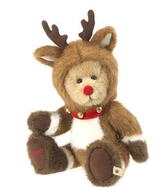 Look what I found on #zulily! Rudolph Bear Figurine by Boyds #zulilyfinds
