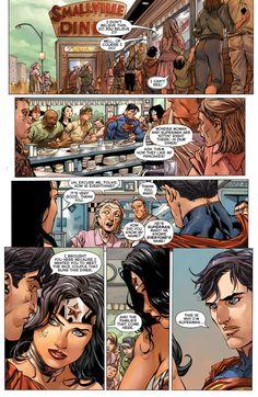 Wonder woman superman dating