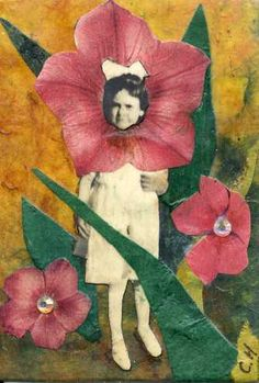 Flower Child ACEO by CathyHorner on Etsy