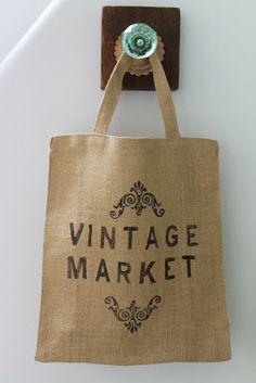 ECO Bolsas- Vintage Market: Deco Marce Tienda
