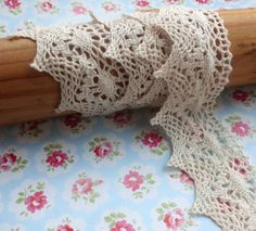 Why am I trying to find a lace trimmed sheet when I can make my own?