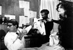 YSL, Anne Marie Munoz & Loulou by Pierre Boulat, 1982